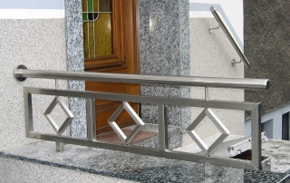 Edelstahl Treppengeländer von Stefan Eibel aus Herten