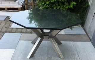 Edelstahl Tisch von Stefan Eibel aus Herten