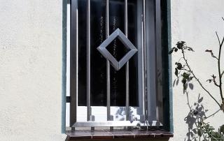 Edelstahl Fenstergitter von Stefan Eibel aus Herten