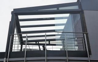 Edelstahl Terrassengeländer von Stefan Eibel aus Herten