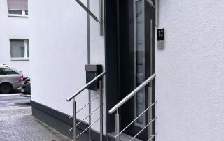 Edelstahl Vordach von Stefan Eibel aus Herten
